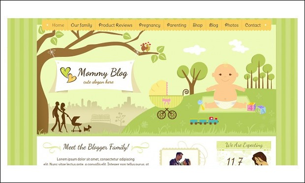 Mommy Blog - Mommy Blogger WordPress Responsive Themes