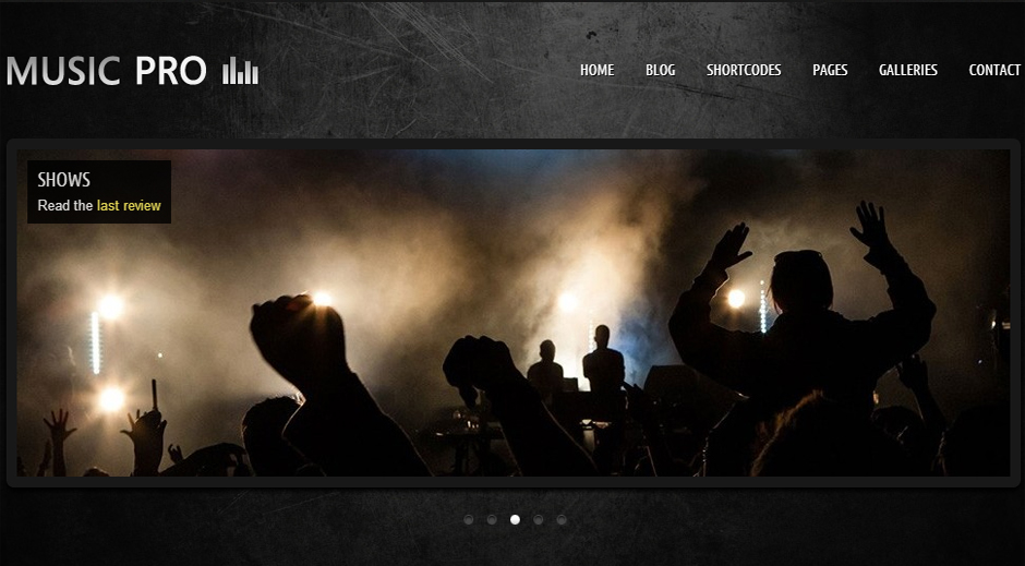 Music Pro - Music Community Theme