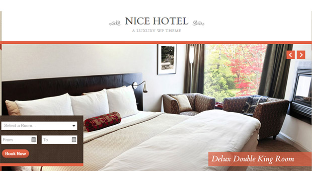 Nice Hotel - Tourism WordPress Responsive Theme