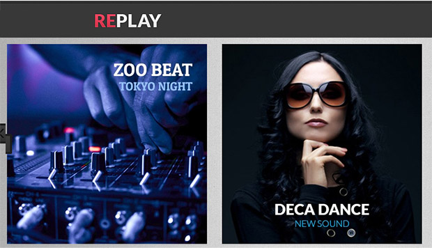 Replay - Mobile DJ Responsive WordPress Theme