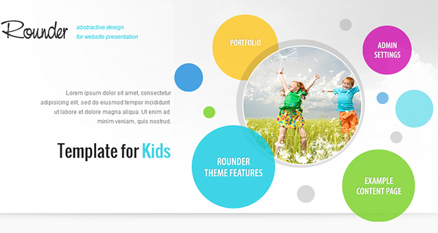 Rounder - Tourism WordPress Responsive Theme