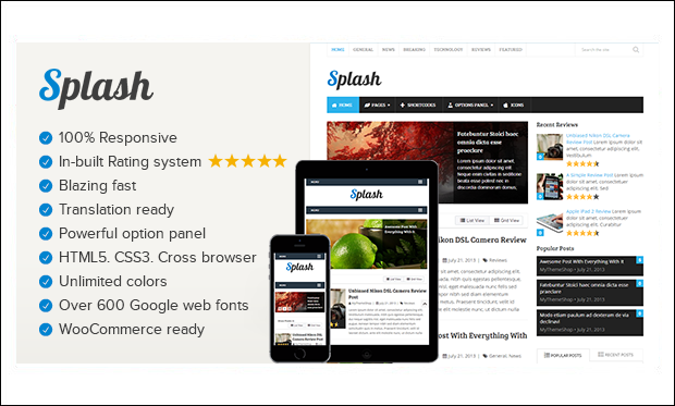 Splash - WordPress Themes for SEO Affiliates