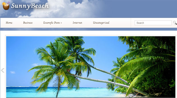 Sunny Beach - Tourism WordPress Responsive Theme