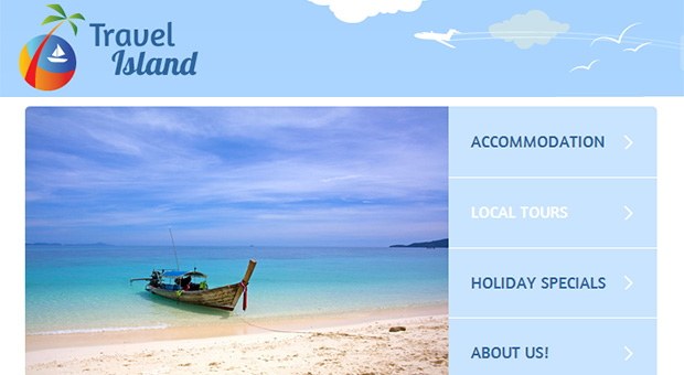 Travel Island - Beachy WordPress Responsive Theme