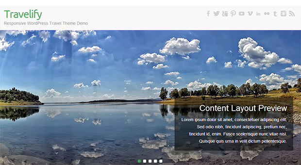 Travelify - Tourism WordPress Responsive Theme