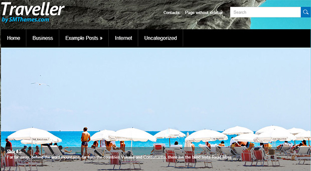 Traveller - Tourism WordPress Responsive Theme