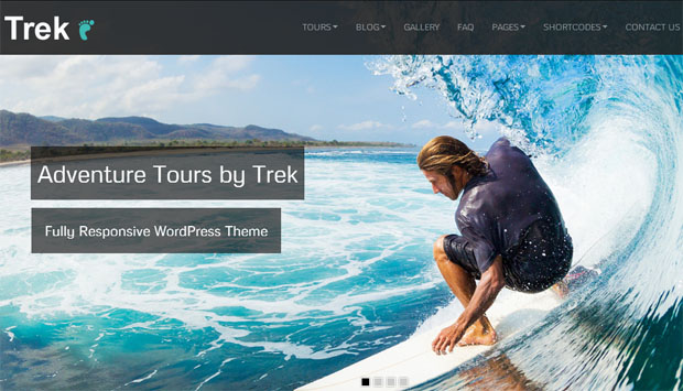 Trek - Tourism WordPress Responsive Theme