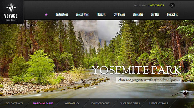 Voyage - Tourism WordPress Responsive Theme