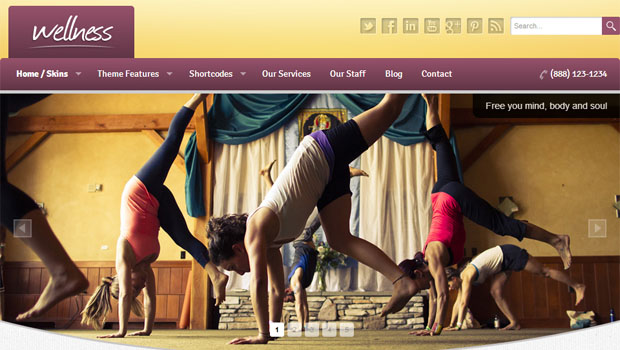 Wellness - Yoga WordPress Theme