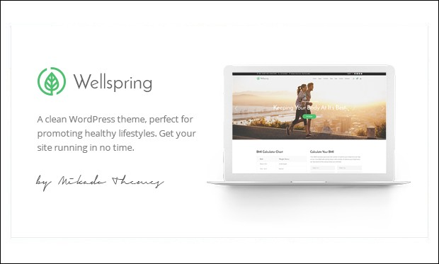 Wellspring - Yoga WordPress Themes