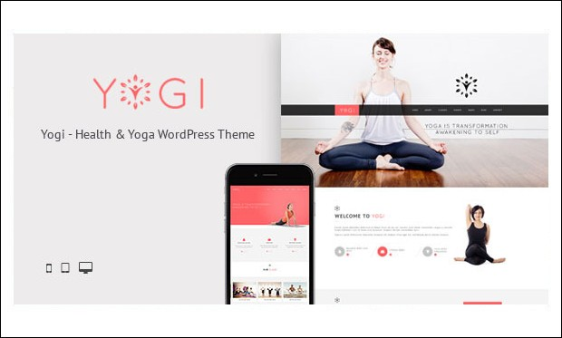 Yogi - Yoga WordPress Themes