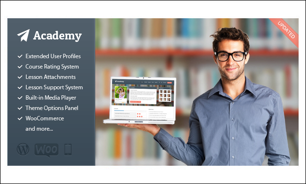 Academy - WordPress Responsive Theme for Digital Schools