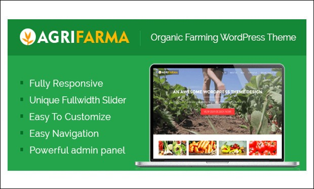 Agrifarma - WordPress Themes for Digital Farms