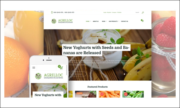Agrilloc - WordPress Themes for Digital Farms