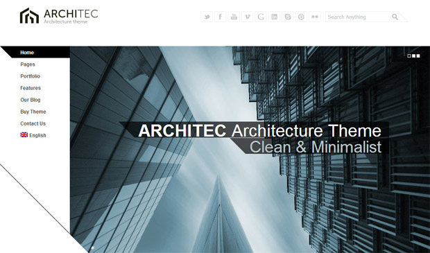 Architec - Responsive Constructor WordPress Theme