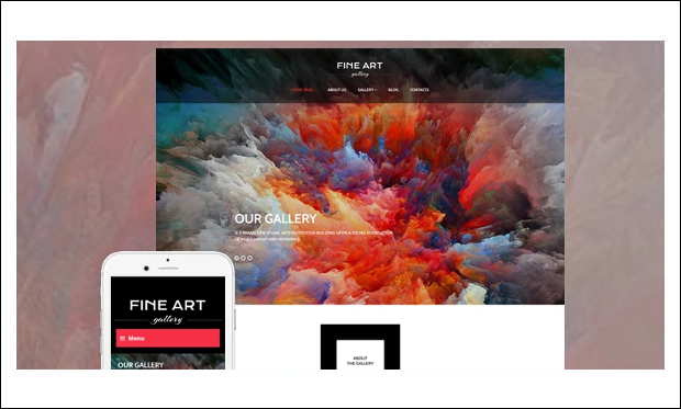 Art Gallery - WordPress Themes for Artists