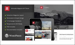 Axon - WordPress Themes for Magazine Websites