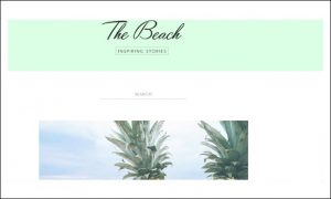 Beach - Beachy WordPress Themes