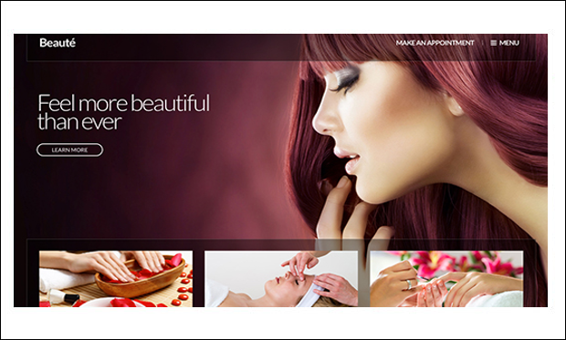Beaute - Beauticians WordPress Themes