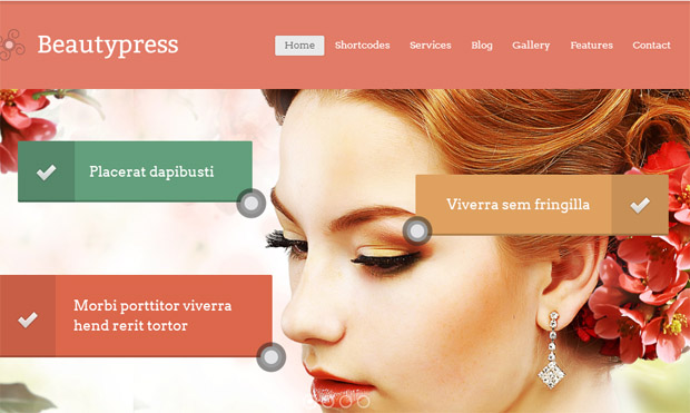 BeautyPress - Salon Responsive WordPress Theme