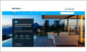 Bellaina - Responsive WordPress Themes for Real Estate Agents