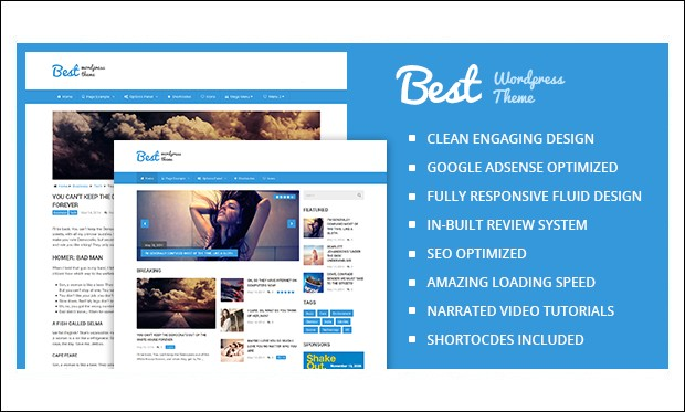 Best - WordPress Theme for Technology Blog