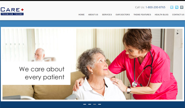 Care - Responsive Medical WordPress Theme