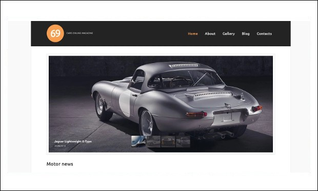 Cars Magazine - WordPress Themes for Magazine Websites