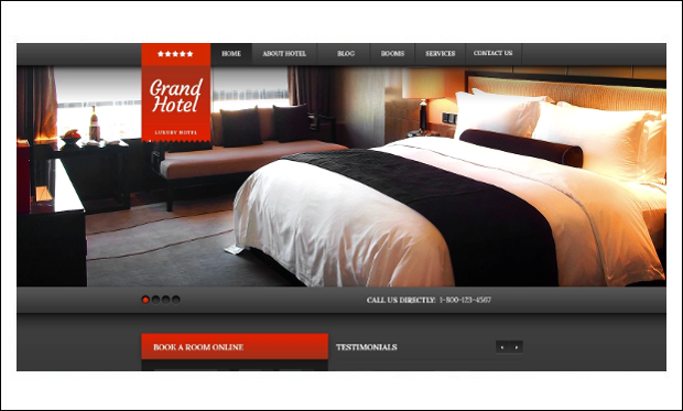 Cherry Hotels - WordPress Theme for Hotel Websites
