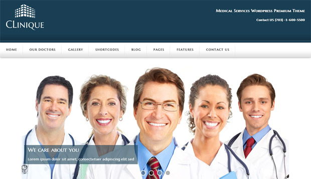 Clinique - Responsive Medical WordPress Theme
