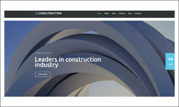 Construction - WordPress Themes for Construction Companies
