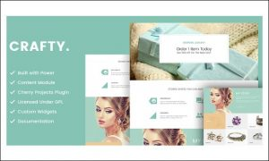 Crafty - WordPress Themes for Artists
