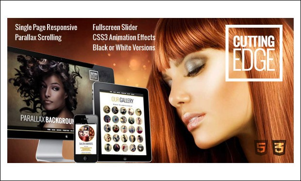 Cutting Edge - WordPress Themes for Salons