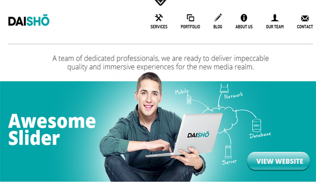 Daisho - Responsive Video WordPress Theme