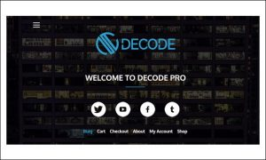 Decode - Writer WordPress Responsive Themes