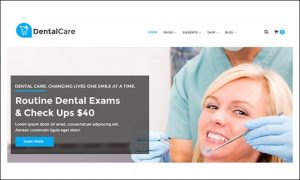 Dental Care - Medical Doctors WordPress Themes