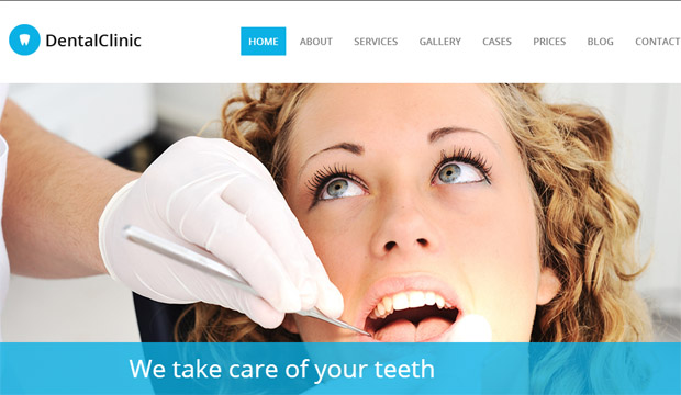 Dental Clinic - Responsive Medical WordPress Theme