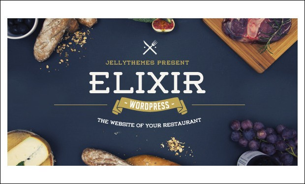 Elixir - WordPress Themes for CafeHouse Restaurants