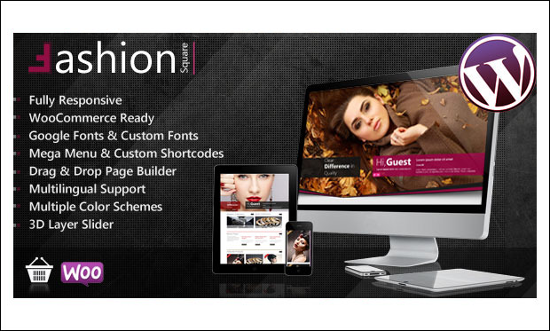 Fashion Shop - WordPress Themes for Makeup Artists