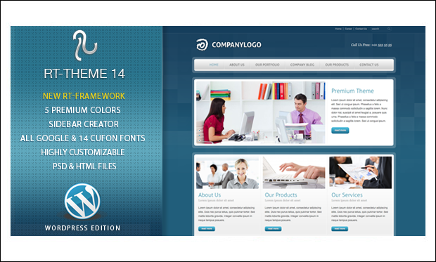 RT- Theme 14 - WordPress Themes for Catalogs