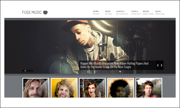Fuse - WordPress Themes for Music Blogs