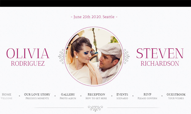 Game Over - Responsive Wedding Theme