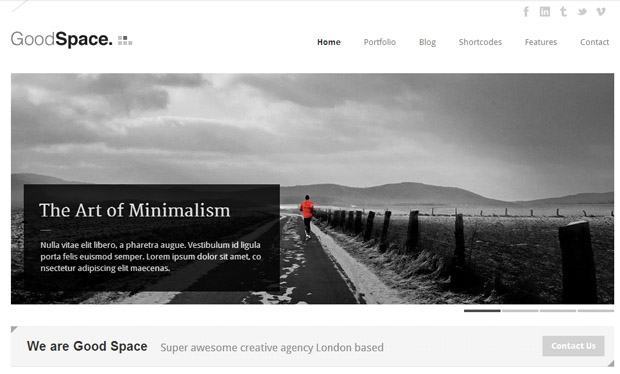 Good Space - Responsive Magazine WordPress Theme
