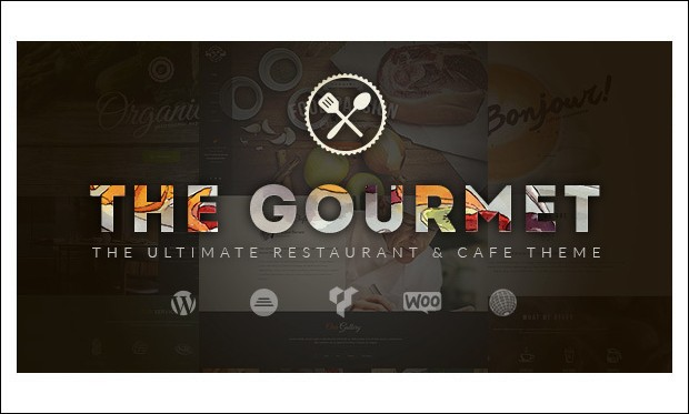 Gourmet - WordPress Themes for CafeHouse Restaurants
