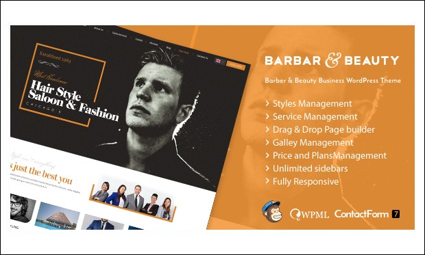 HairLoom - WordPress Themes for Barber Shops