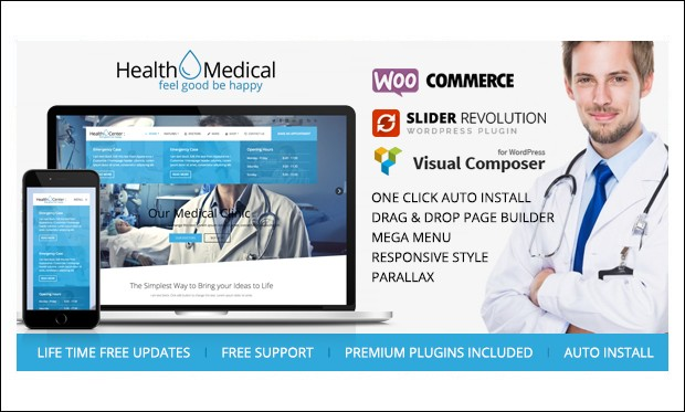 Health & Medical - Medical Doctors WordPress Themes