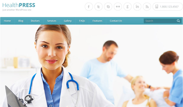 Health Press - Responsive Medical WordPress Theme