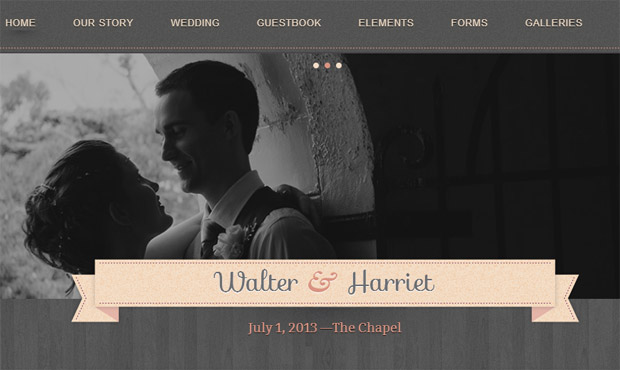 Hitched - Responsive Wedding Theme