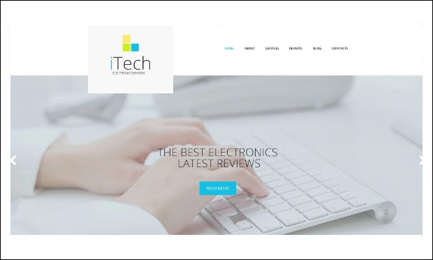 IT Responsive - WordPress Theme for Technology Blog