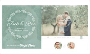 Jack & Rose - Wedding WordPress Themes